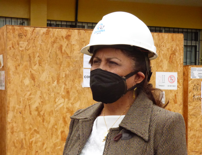 Luz Eyzaguirre, rectora interina de la UNI (Foto: agendapais.com).