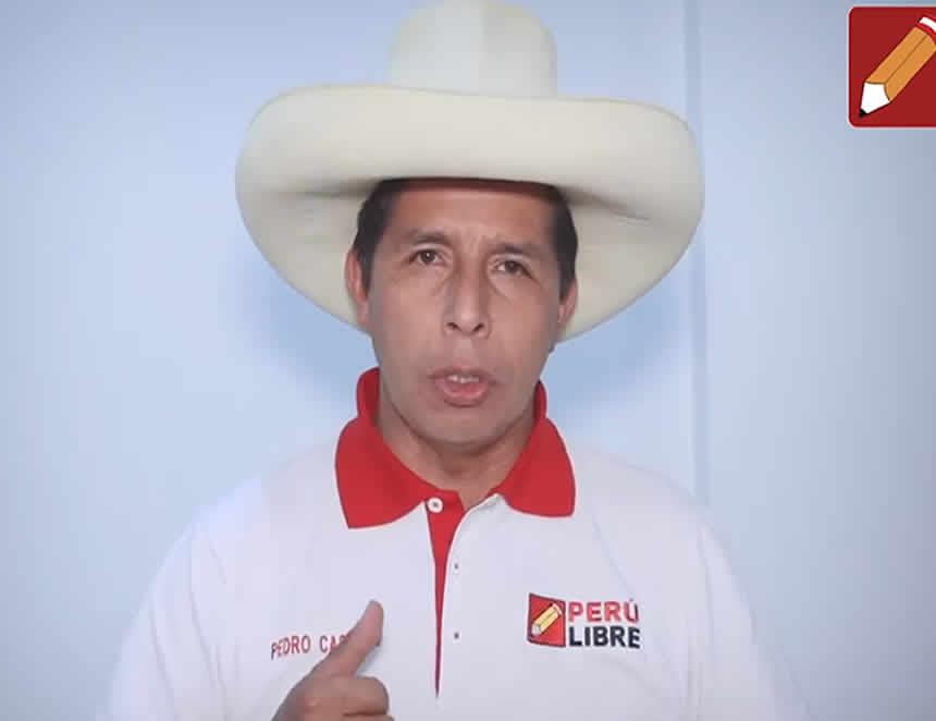 Pedro Castillo (Fotoi: Facebook).