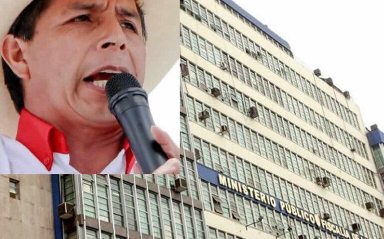 Pedro Castillo serà citado por la Fiscalìa.