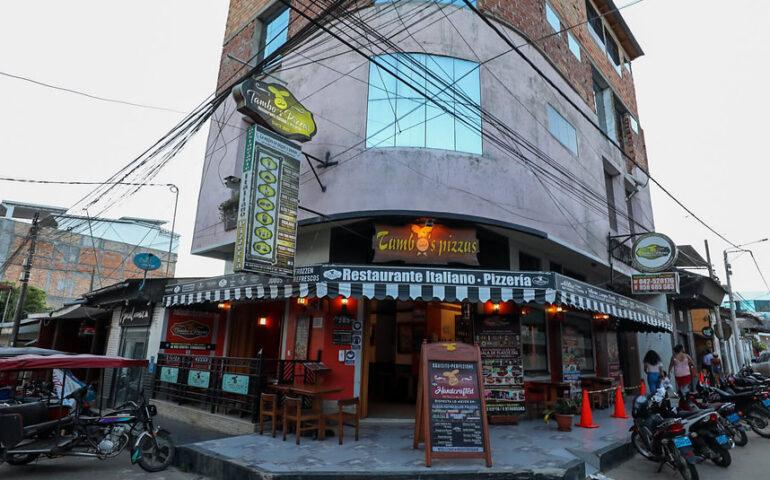 Restaurante durante la inmovilización social obligatoria (Foto: Ministerio de la Producción).