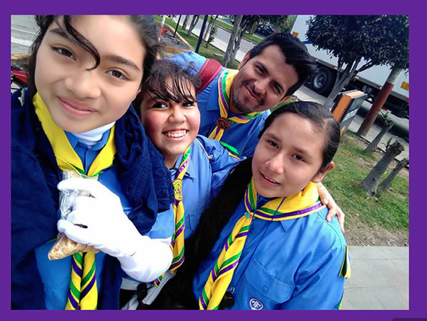 Scouts del Perú de aniversario (Foto: scout.org.pe).