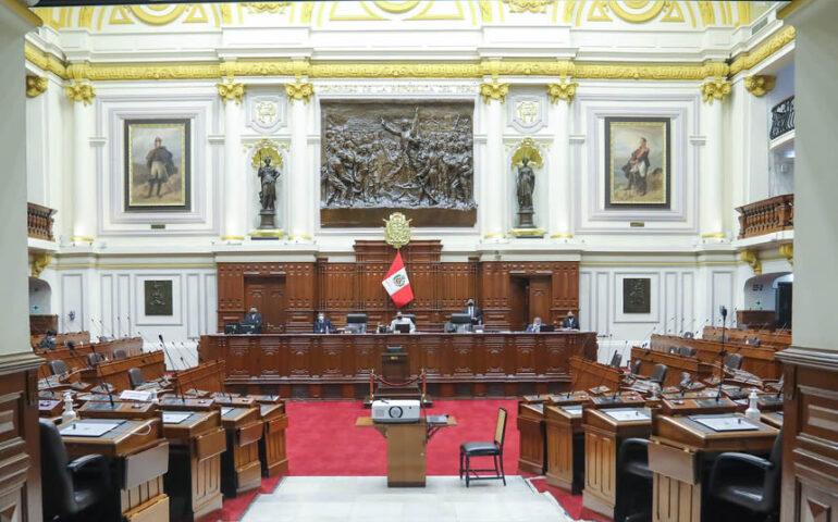 Pleno verá propuesta de cuarta legislatura, por acuerdo de Junta de Portavoces (Foto: Congreso de la República).
