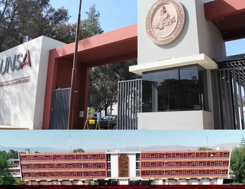 Sede de la Universidad Nacional de Ingeniería (Foto: UNSA).
