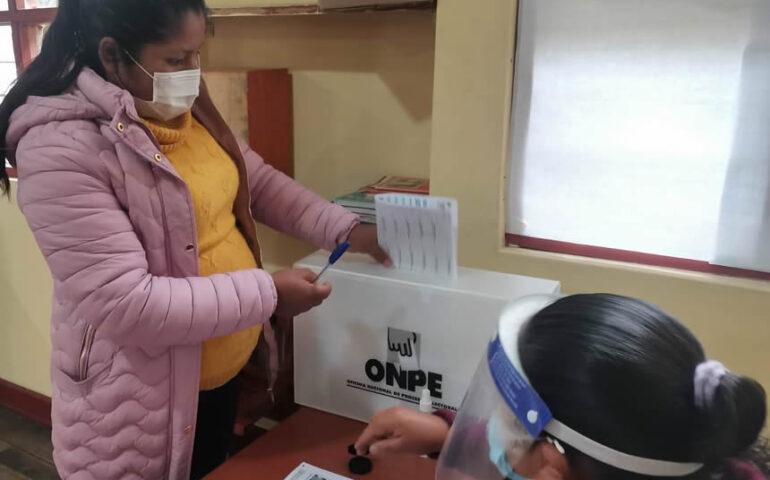 Sufragio electoraL (Foto: ONPE).