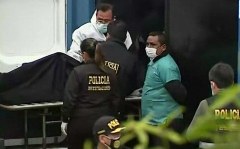 Cuerpo de Abimael Guzmán es ingresado a la Morgue del Callao (Captura Canal N).
