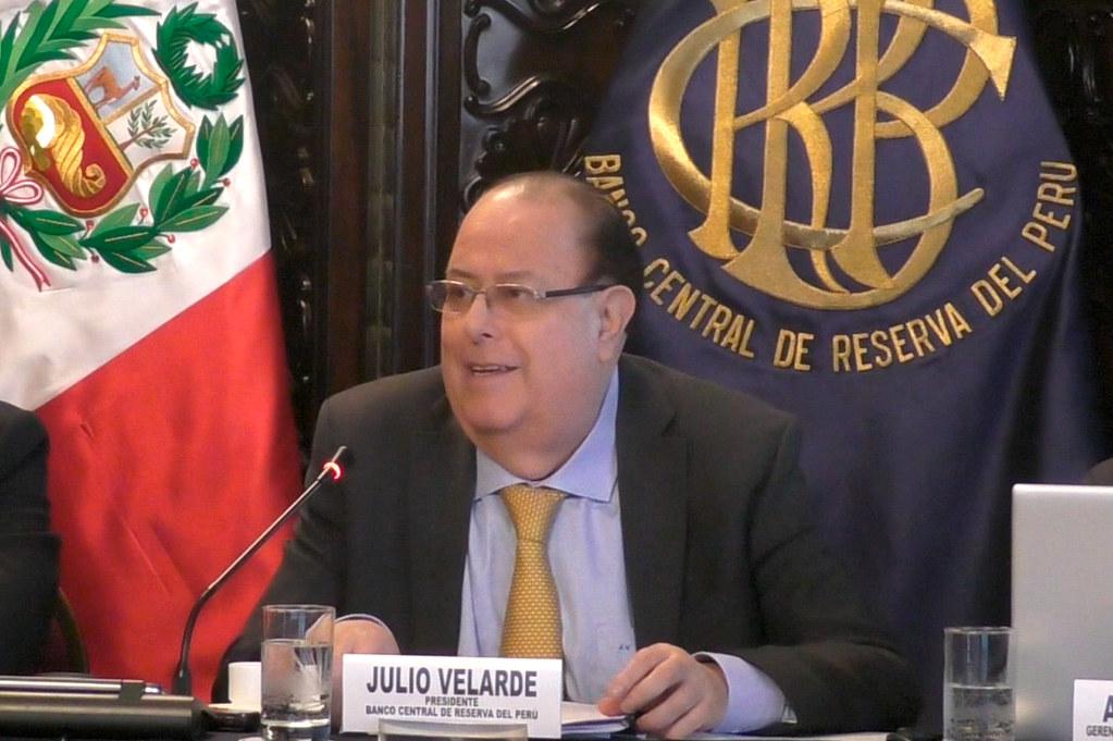Julio Velarde, presidente del BCR (Foto: BCRP).