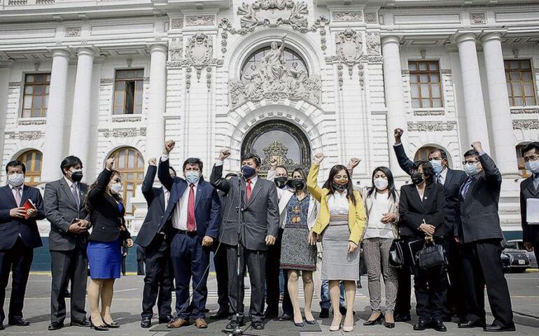 Bancada de Perú Libre (Foto: Facebook Perú Libre).
