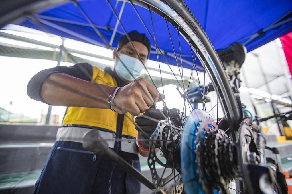 Serviocio técnico de Bicicletas en Lima (Foto: Municipalidad de Lima).