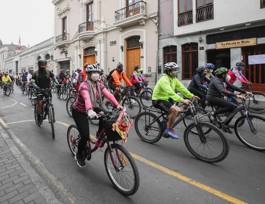 Bicicletas en Lima (Foto: Municipalidad de Lima).