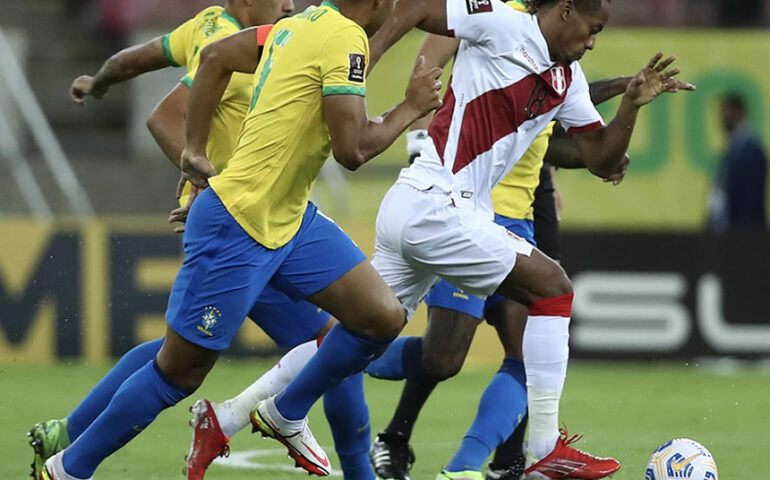 Brasil versus Perú (Foto: FPF).