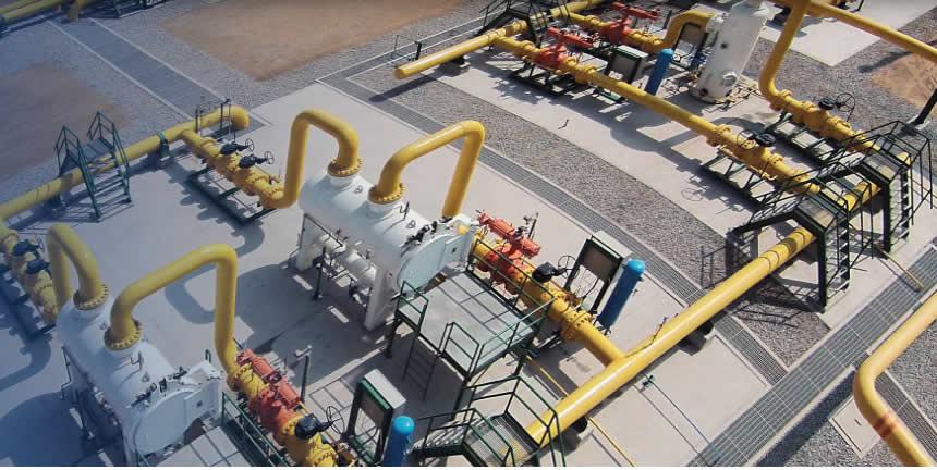 Instalaciones de Calidda, empresa concesionaria para operar el gas natural de Camisea (Foto: Calidda).