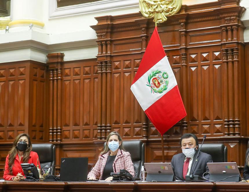 Junta Directiva del Congreso de la República (Foto: Congreso de la República).