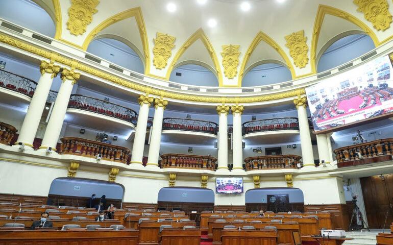 Congresistas quieren que no haya primarias en las Elecciones Municipales (Foto: Congreso de la República).