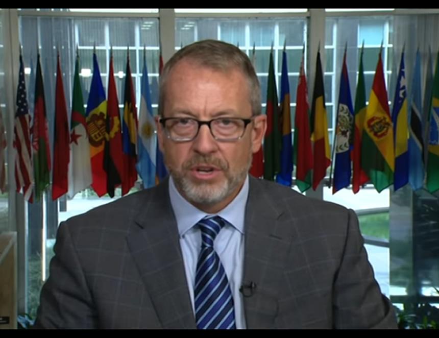 James Story, embajadior de EEUU ante Venezuela (Captura VOA).