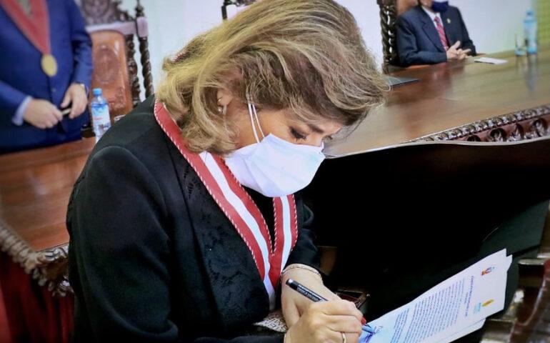 Fiscal de la Nación, Zoraida Ávalos Rivera (Foto: Fiscalía de la Nación).
