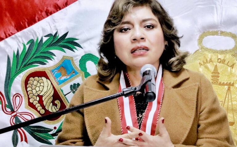 Fiscal de la Nación, Zoraida Ávalos Rivera (Foto;: Ministerio Público)