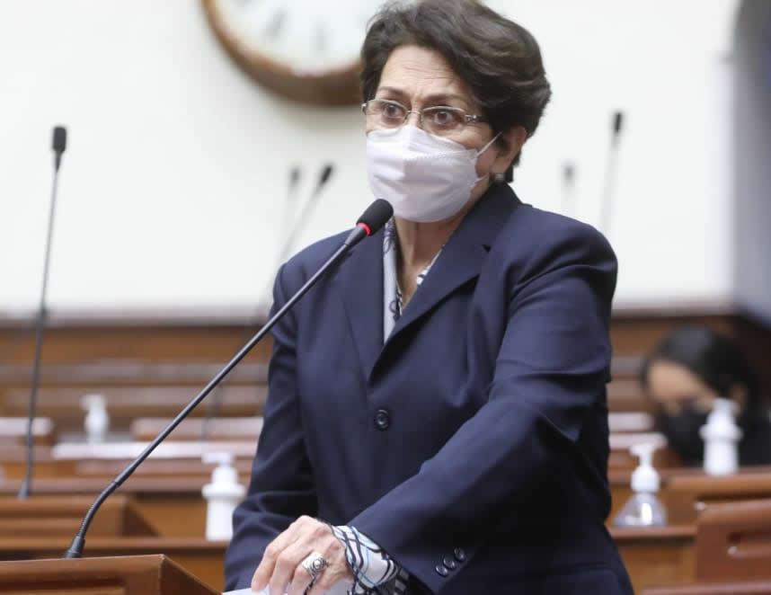 Gladys Echaiz (Foto: Congreso de la República).