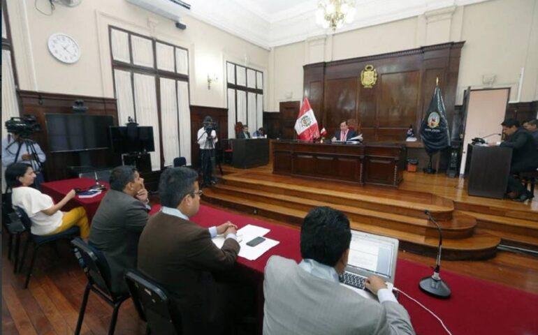 Caso cuellos blancoa del Callao (Foto: Poder Judicial).