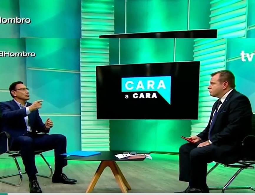 Martín Vizcarra en TV Perú (Captura TV Perú).