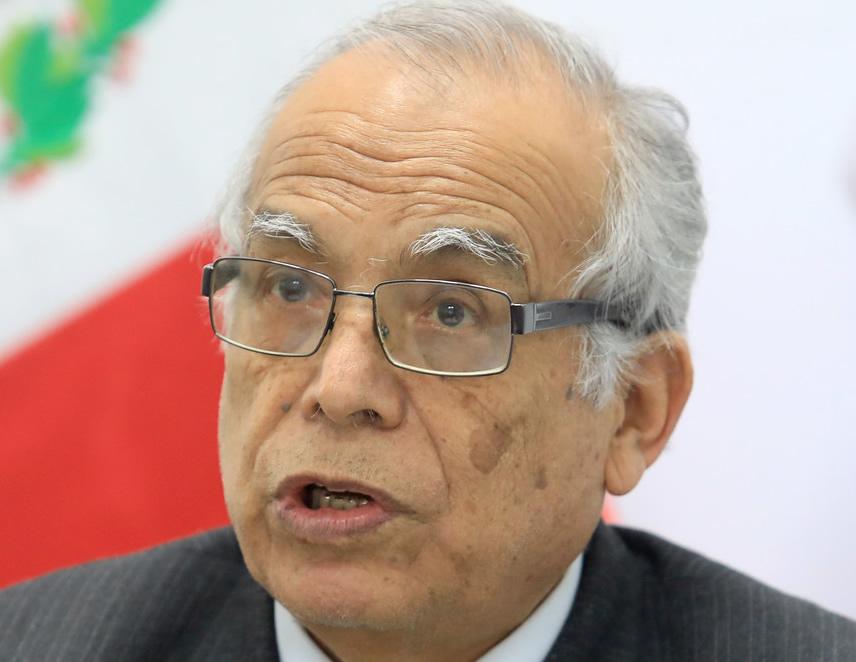 Ministro Aníbal Torres (Foto: Minjus).