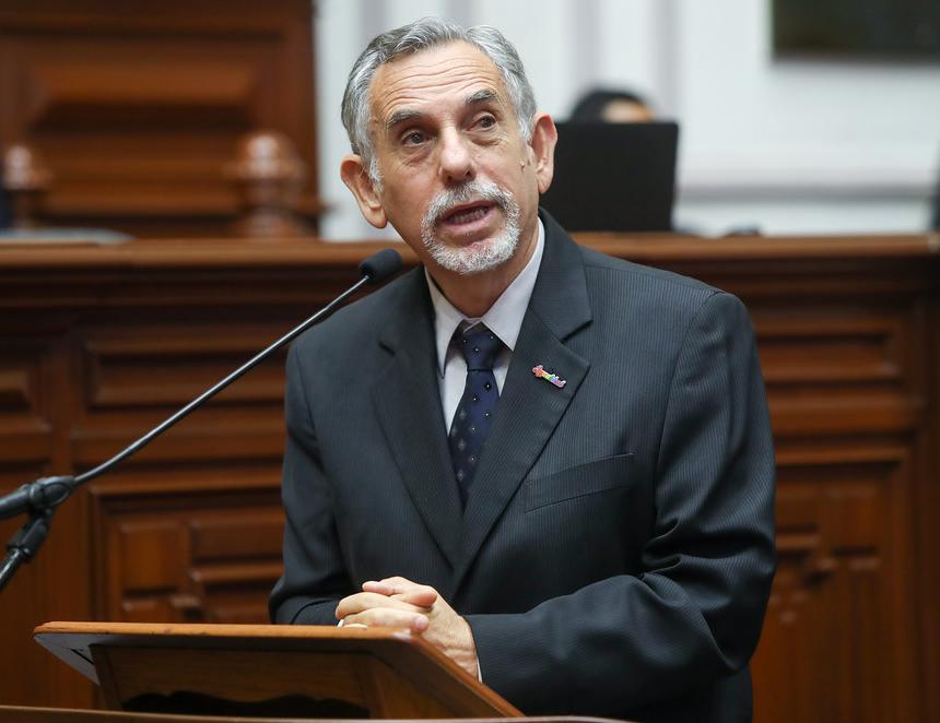 Ministro de Economía y Finanzas, Pedro Francke (Foto: Congreso de la República).