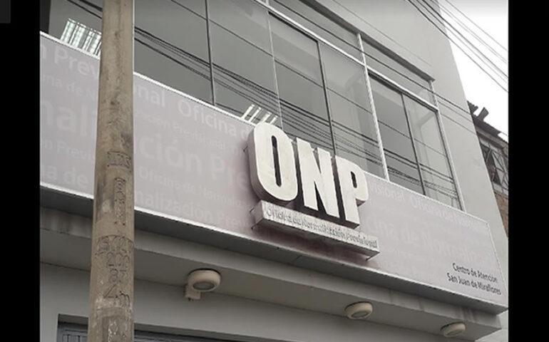 Oficina de la ONP (Foto: google).
