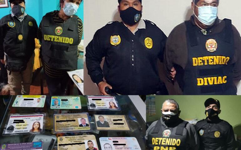 PNP desarticula red criminal dedicada al tráfico de migrantes (Foto: Mininter).