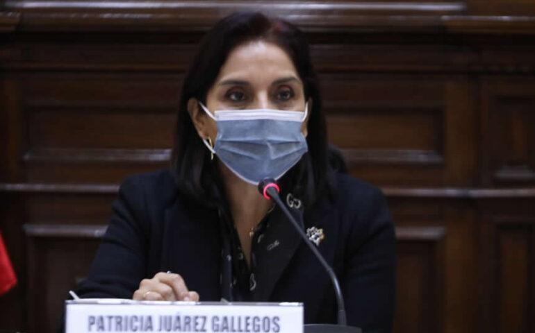 Patricia Juárez (Foto: Congreso de la República)