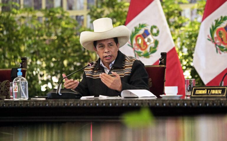 Presidente Pedro Castillo, promulgó la ley que faculta al fiscal disponer la cremación de los restos de los sentenciados cabecillas (Foto: Presidencia de la República).