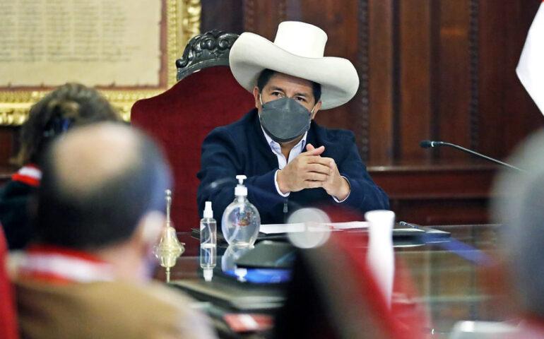 Presidente Pedro Castillo (Foto: Presidencia de la República).