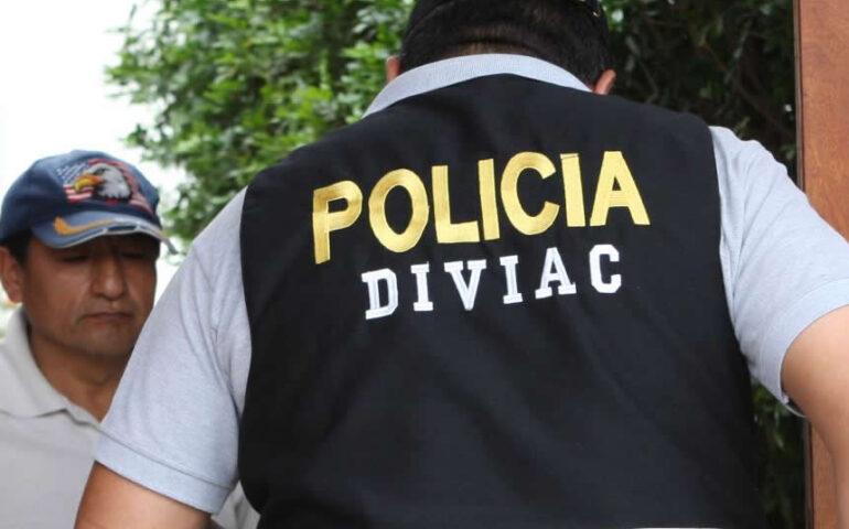 En Huancayo DIVIAC detiene a exjuez, policía y abogado (Foto: andina).