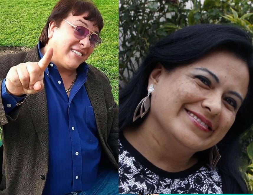 Richard Cisneros y Miriam Morales (Foto: edición agendapais).