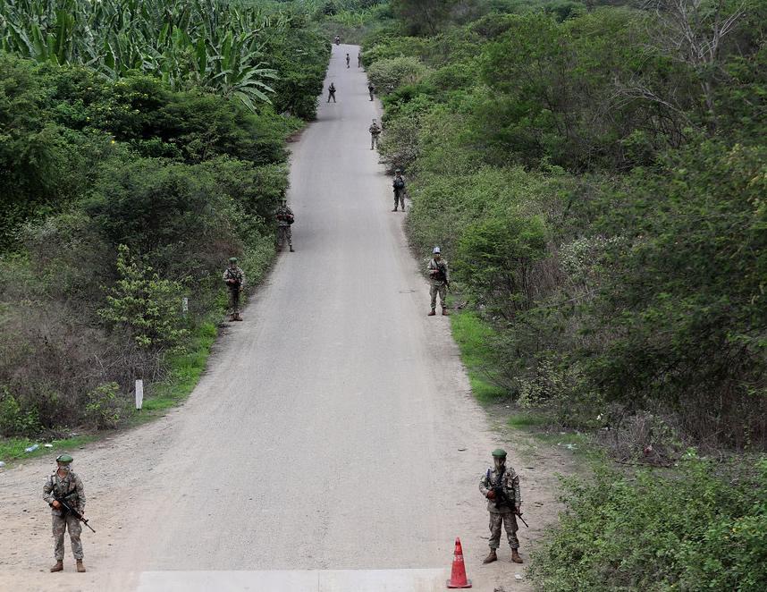 Patrullas mixtas sostuvieron un enfrentamiento con una columna terrorista en Vizcatán del Ene, Satipo, Junín. (Foto referencial: Mindef).