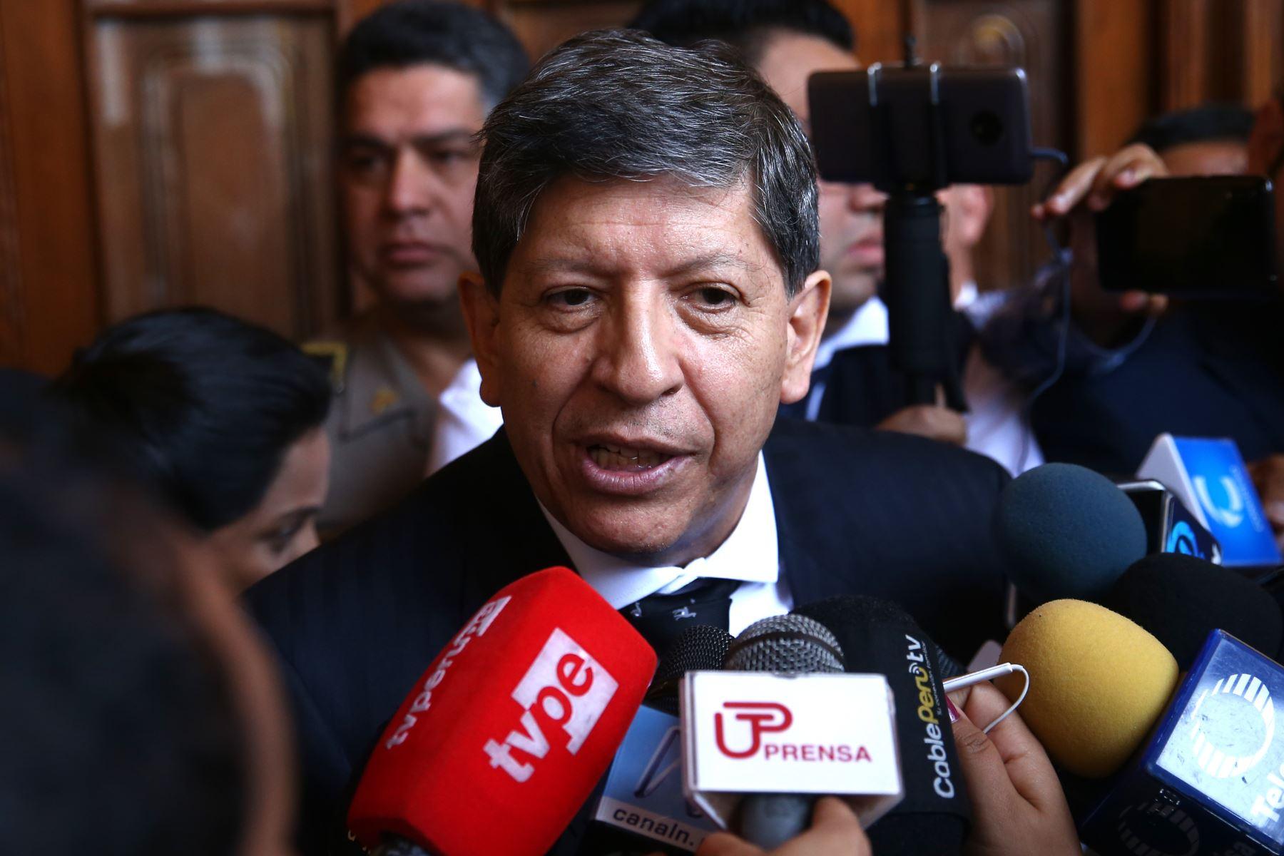 Condolencias por el fallecimiento del magistrado del Tribunal Constitucional (TC), Carlos Ramos Núñez (Foto: andina).