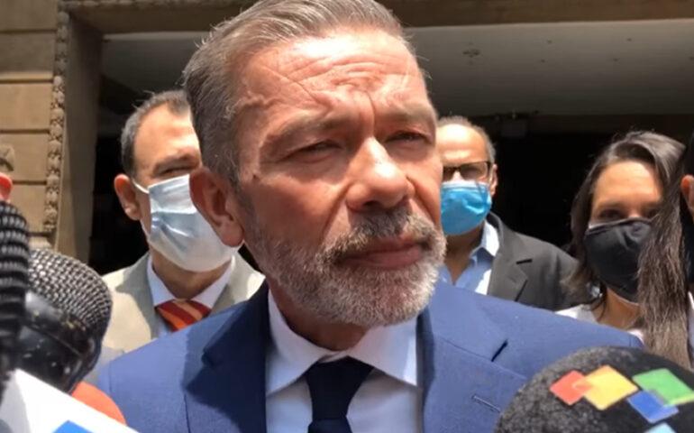 Gerardo Blyde, polìticos opositor de Venezuela (Captura video VOA).