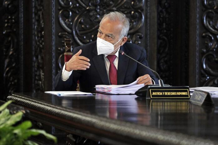 Ministro de Justicia, Aníbal Torres (Foto: Ministerio de Justicia)