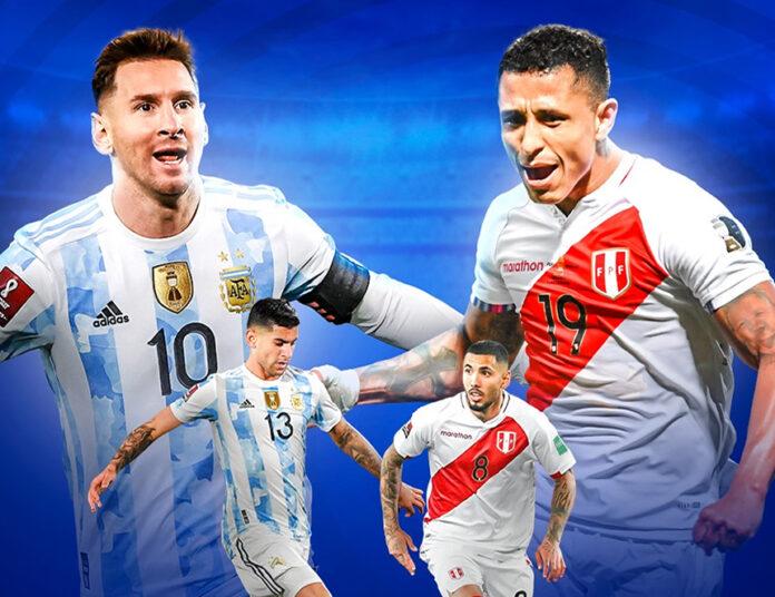 Argentina vs Perú, es uno de los cuatro partidos a jugarse hoy en sudamérica (Imagen: Conmebol).