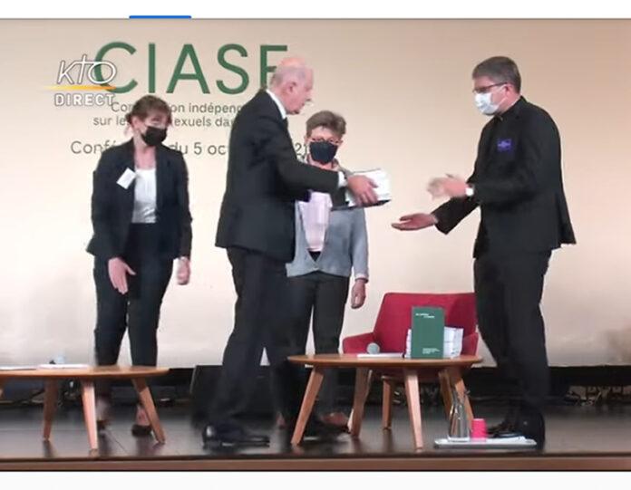 Presentación del informe de la Comisión Independiente sobre los Abusos Sexuales (Captura video ICASE).