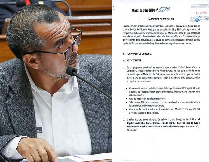 La oposición comenzó a recolectar firmas (Foto: Congreso/edicion: agendapais).