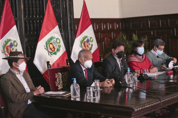 Inusual suspensión del Consejo de Ministros (Foto: PCM).