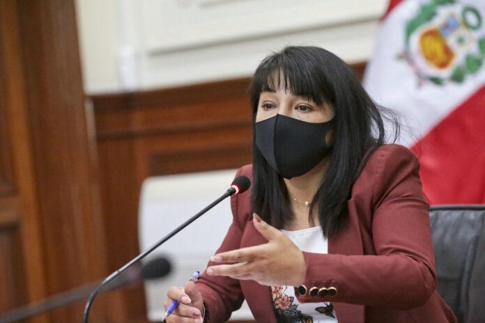 Jefa del Gabinete, Mirtha Vásquez (Foto: PCM)