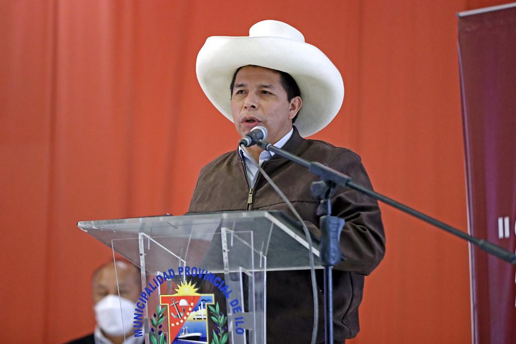 Pedro Castillo en Ilo (Foto: Presidencia de la República).