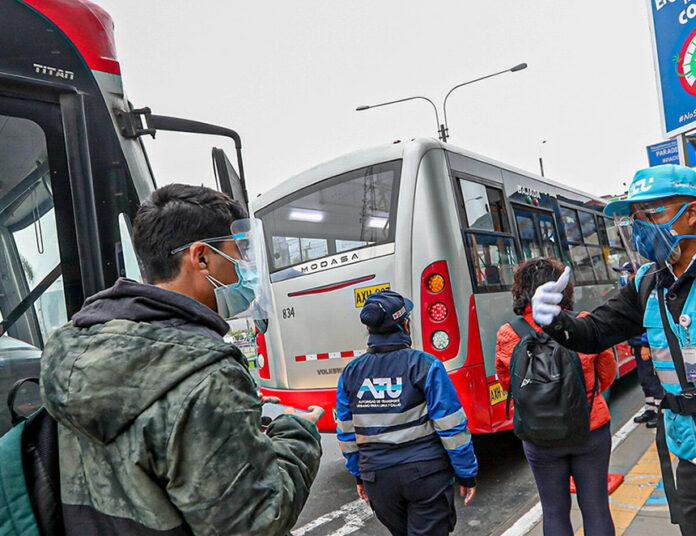 Este viernes habrá horario especial del servicio público de transporte (Foto: ATU).