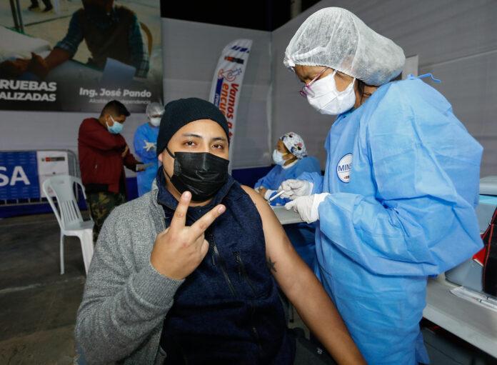 Prosigue la vacunación en todo el Perú (Foto: Minsa).